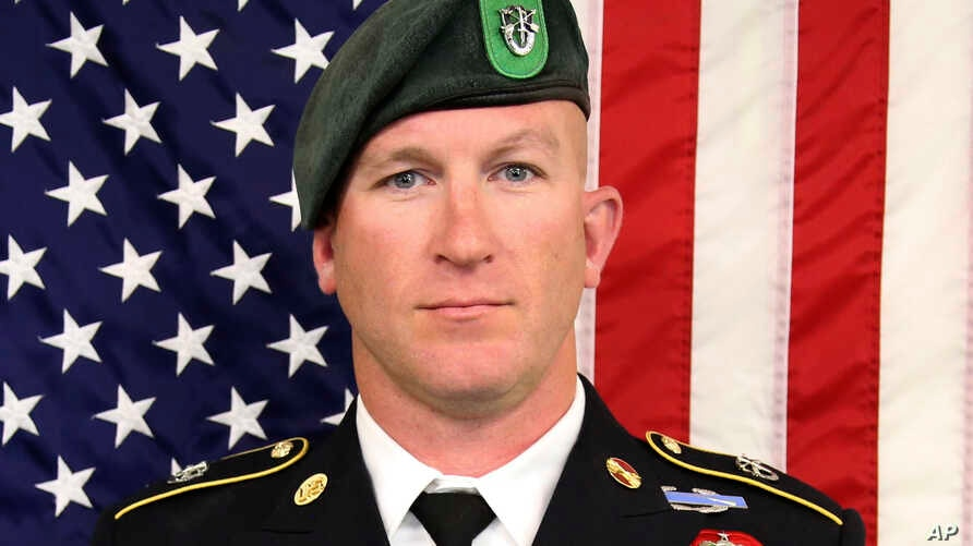 """Sgt. Maj. James G. """"Ryan"""" Sartor is seen in an undated photo provided by the U.S. Army Special Operations Command."""