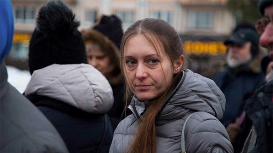 """Svetlana Prokopyeva, 39, is added to the list of """"terrorists and extremists"""" by Russian authorities following her commentary about the Arkhangelsk blast in October 2018."""