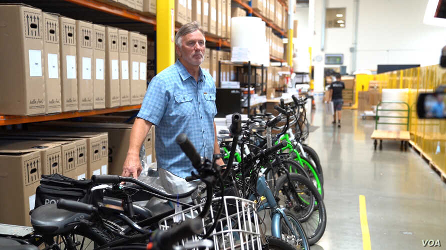 Don DiCostanzo is the CEO and co-founder of Pedego.  He moved his bike manufacturing from China to Vietnam because of trade tari