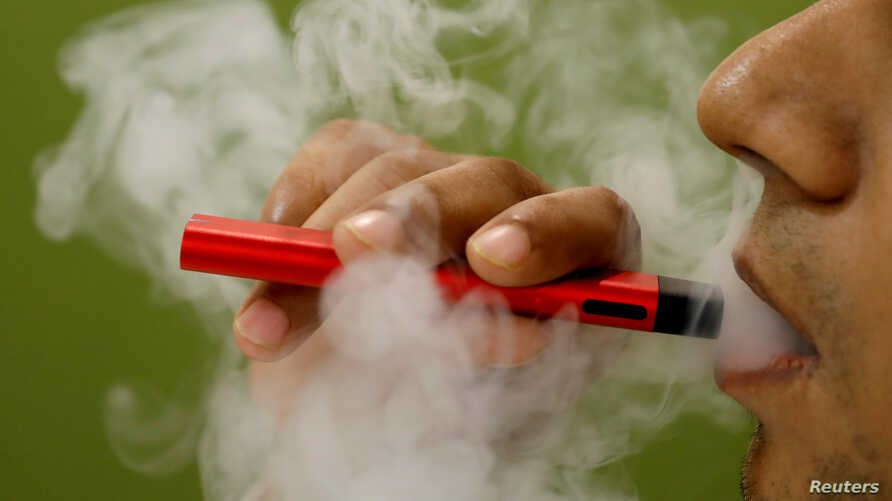 FILE - So far, investigators have not identified a particular device, liquid or ingredient behind the U.S. outbreak of severe vaping-related illnesses.