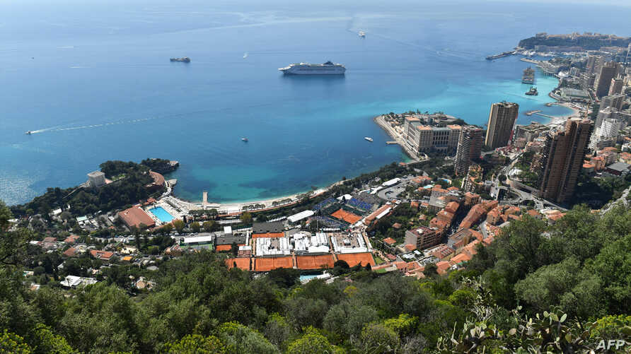 FILE - A general view taken on April 22, 2018 shows Monte Carlo.