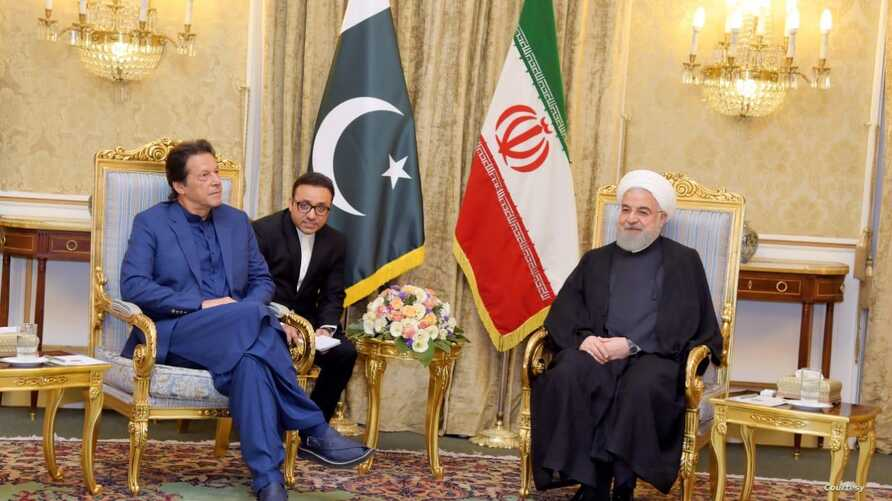 Pakistan Prime Minister travelled to Iran for a day trip and held official talks with President Hassan Rouhani