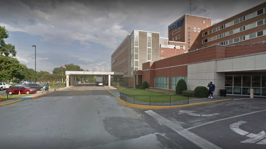 A DCH Health System hospital is seen in Tuscaloosa, Alabama, in a Google Streetview image.