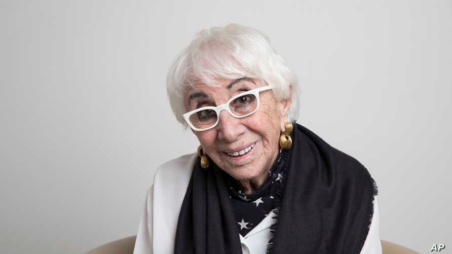 Lina Wertmuller poses for a portrait, Oct. 24, 2019, in Los Angeles.
