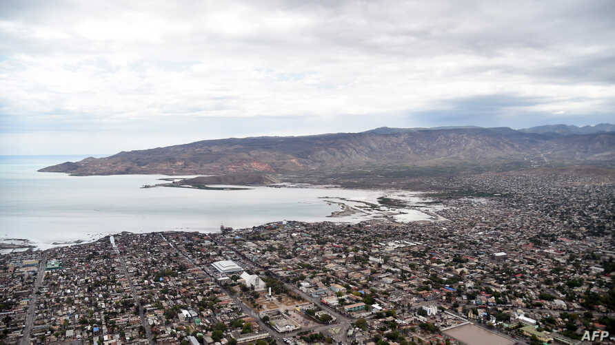 Gonaives, the capital of Artibonite Department in northern Haiti, 150 kilometers from Port-au-Prince, is seen on May 7, 2016. …