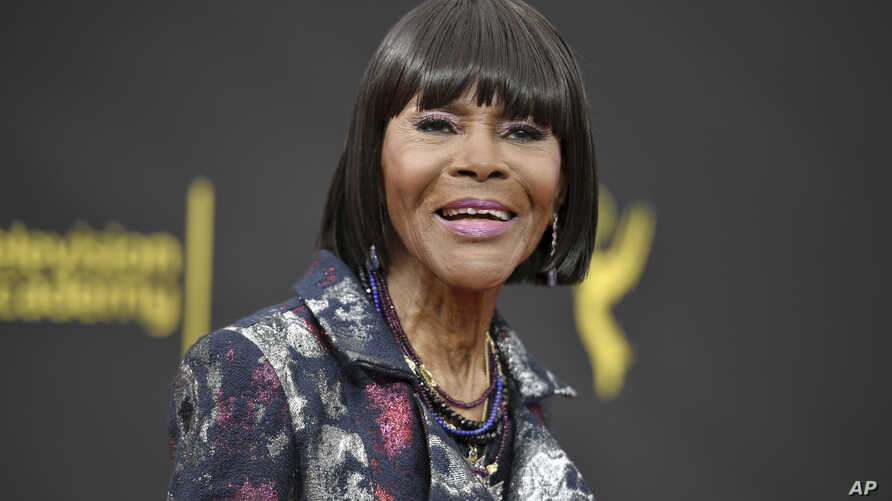 Cicely Tyson arrives at night two of the Creative Arts Emmy Awards on Sunday, Sept. 15, 2019, at the Microsoft Theater in Los…