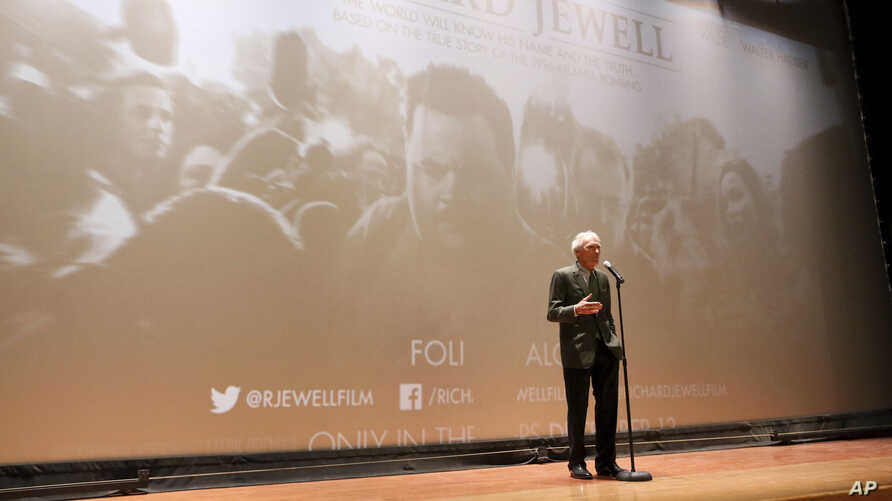 "Clint Eastwood, Director/Producer, seen at the ""Richard Jewell"" Screening at Camp Pendleton on Saturday, Dec. 7, 2019. (Photo…"