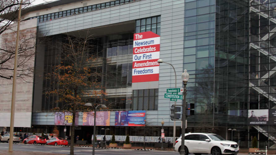 The Newseum in Washington, DC, has increased public understanding of the importance of a free press and the First Amendment. (Photo: Diaa Bekheet)