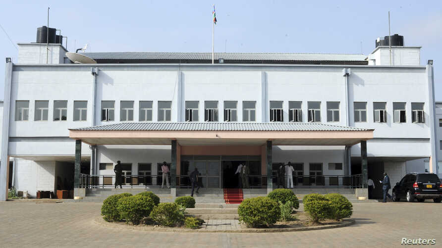 FILE - A general view shows the building of the National Legislative Assembly of South Sudan, in Juba, June 11, 2012.