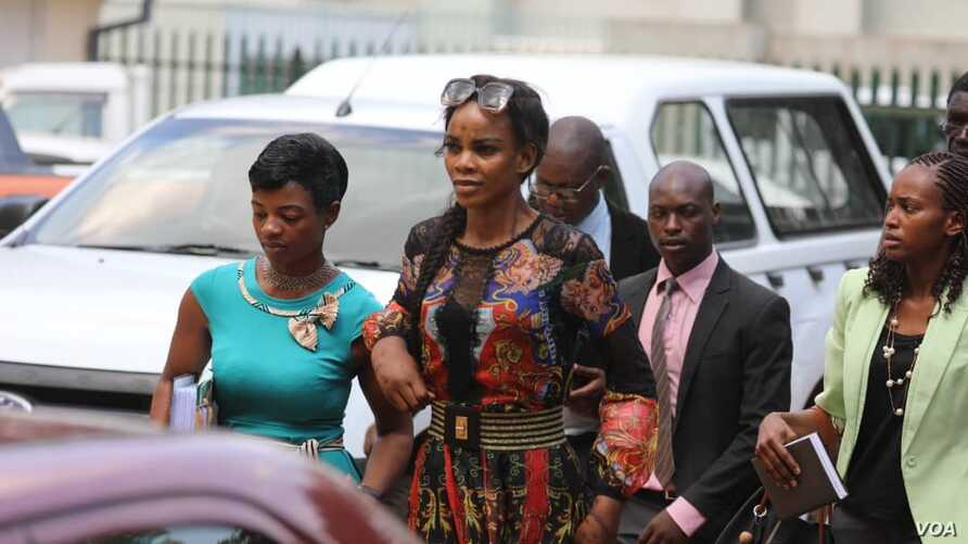So Sad: Officers who arrested Marry Chiwenga pounced on
