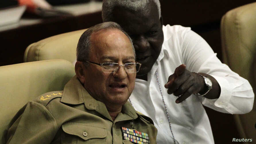 General Leopoldo Cintra Frias attends a Cuban Communist Party congress in Havana in this April 16, 2011 file photo. Cintra, who…