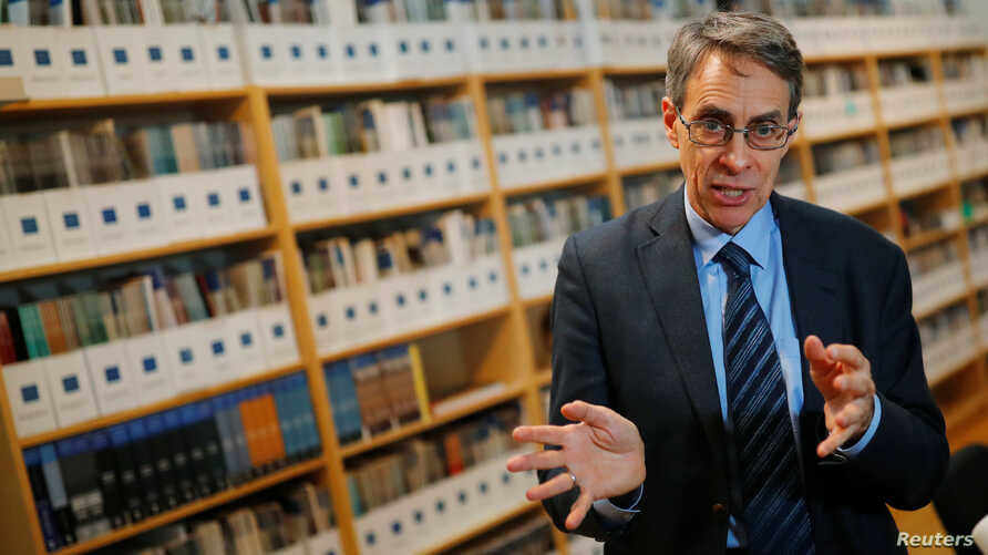 Human Rights Watch Executive Director Kenneth Roth speaks during an interview with Reuters in Berlin, Germany, January 16, 2019…