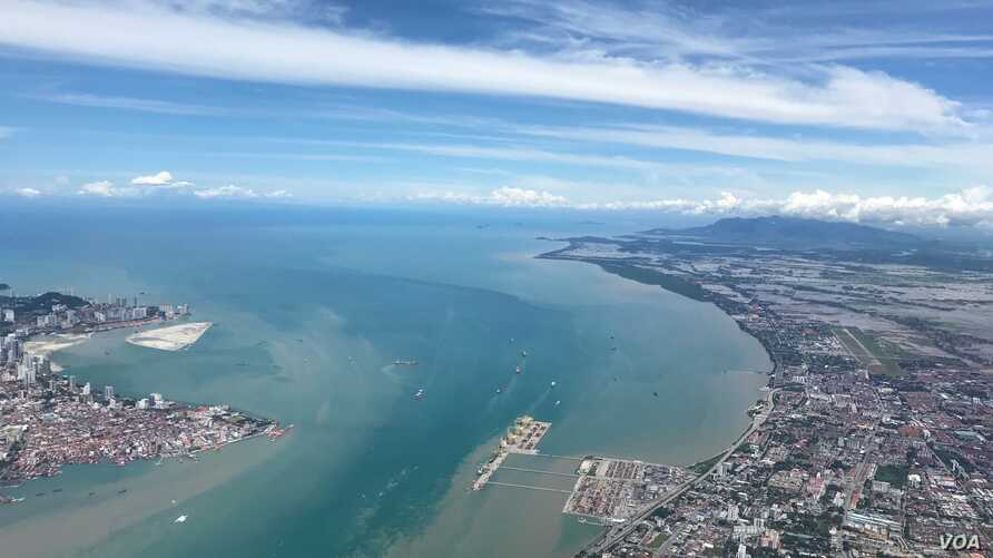 The ocean is seen in Penang, Malaysia, a nation that improved sanitation faster than most.