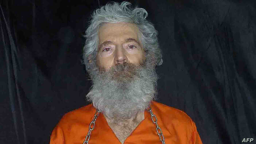 This Image provided by the Federal Bureau of Investigation(FBI) shows a photo of former FBI agent Robert Levinson, who went…