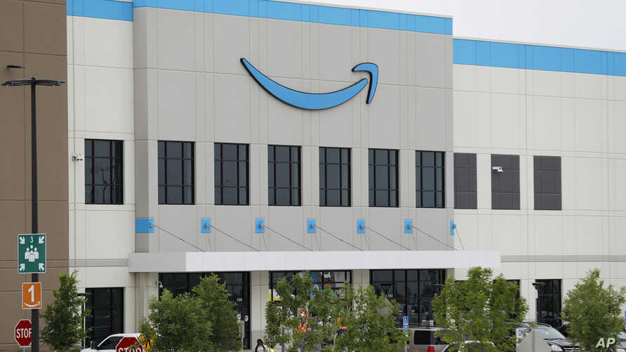 A newly constructed Amazon fulfillment facility is shown in Dallas, Wednesday, May 20, 2020. Amazon has begun hiring for…
