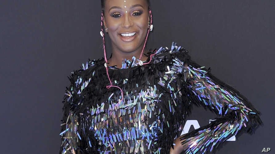 """FILE - DJ Cuppy at the BET Awards in Los Angeles, June 23, 2019. Apple Music announced Thursday that """"Africa Now Radio"""" will debut Sunday and will feature a mix of contemporary and traditional popular African sounds."""