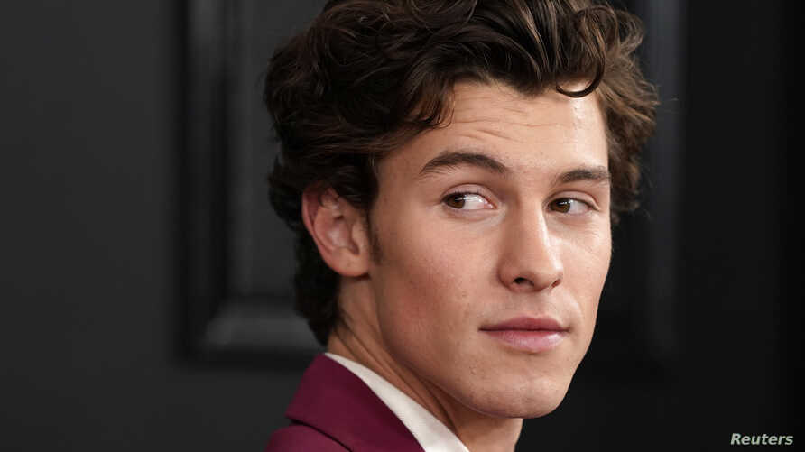 62nd Grammy Awards - Arrivals - Los Angeles, California, U.S., January 26, 2020 - Shawn Mendes. REUTERS/Mike Blake