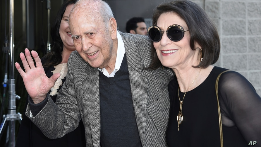 """Carl Reiner attends the LA Premiere of """"If You're Not In The Obit, Eat Breakfast"""" at the Samuel Goldwyn Theater on May 17, 2017, in Beverly Hills, California."""
