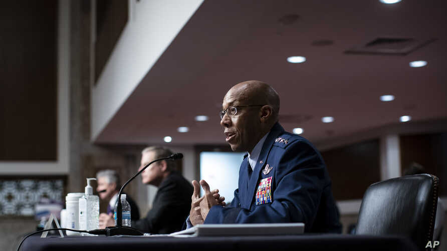 Charles Q. Brown, Jr., nominated for reappointment to the grade of General and to Chief of Staff of the U.S. Air Force,…