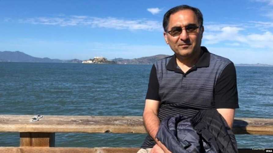 Undated photo of Iranian scientist Sirous Asgari, deported by the U.S. on June 1, 2020 after U.S. authorities prosecuted him in 2016 and then acquitted him in November 2019 of stealing U.S. trade secrets. (IRNA)