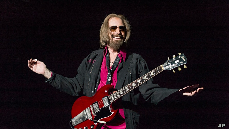 FILE - Tom Petty performs at the Del Mar Racetrack and Fairgrounds, in San Diego, California, Sept. 17, 2017.