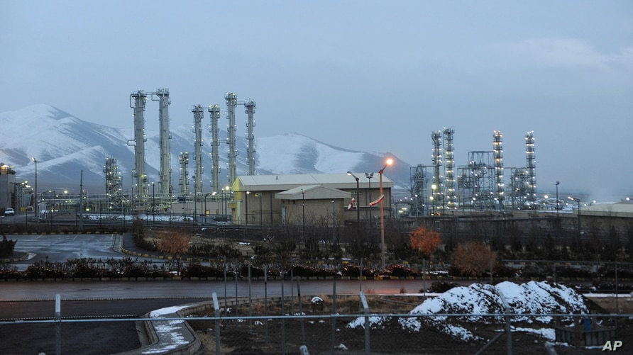 FILE - This Jan. 15, 2011 file photo shows the heavy water nuclear facility near Arak. Iran and six world powers reached a…