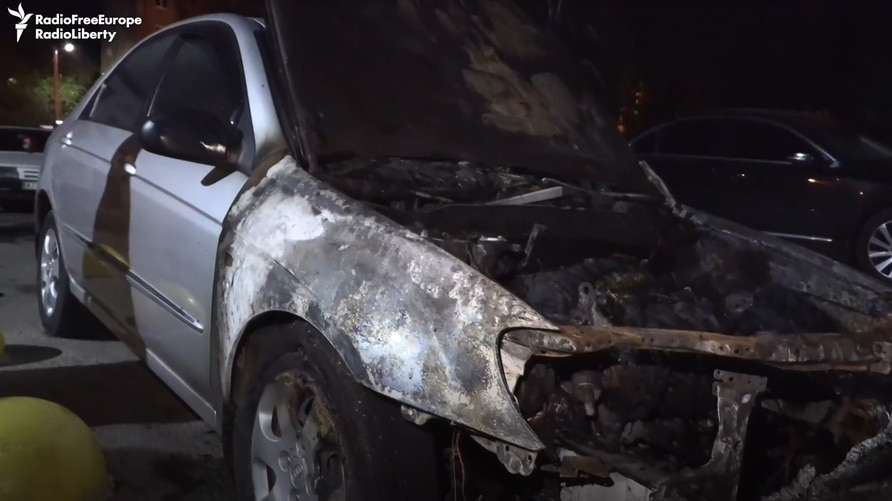The vehicle set on fire was used by Schemes in its reporting and investigations into allegations of high-level corruption.