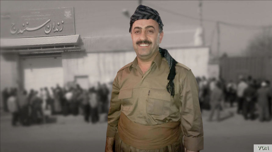 Undated image of Iranian Kurdish political prisoner Heydar Ghorbani, whose death sentence in connection with the 2016 killings of IRGC officers in Iran's Kurdistan province was finalized by Iran's Supreme Court on September 5, 2020. (VOA Persian)