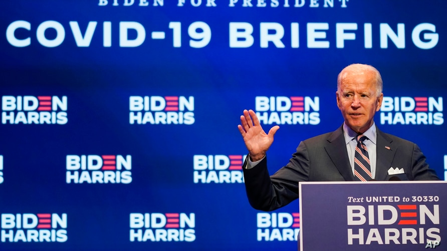 Biden Counters Trump With COVID-19 Vaccine Delivery Plan of His Own | Voice  of America - English