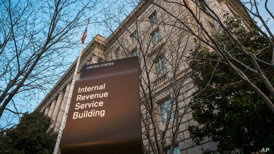 FILE - This April 13, 2014, file photo shows the Internal Revenue Service (IRS) headquarters building in Washington. 2019 was…