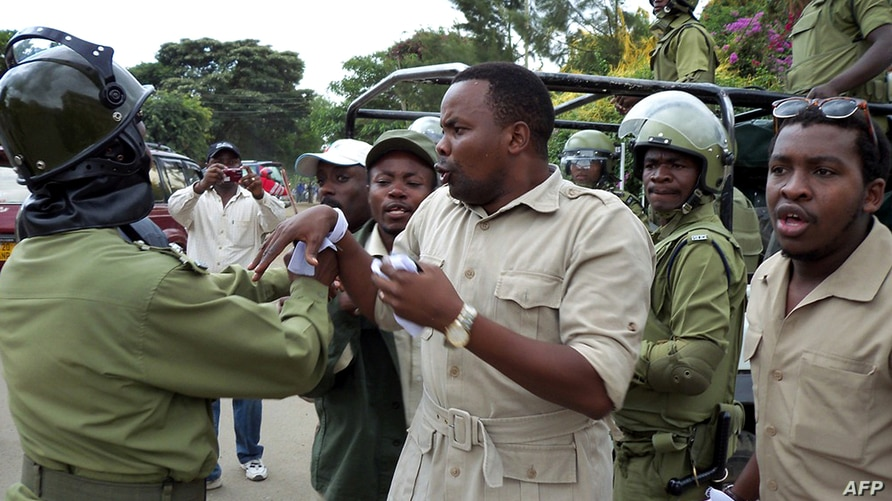 CORRECTING DATE IN CAPTIONThis photo made on January 5, 2011 shows Godbless Lema, a member of parliament for Arusha town,…