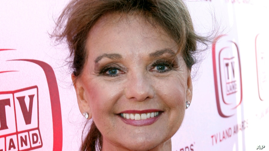 FILE - In this June 8, 2008 file photo, actress Dawn Wells arrives at the TV Land Awards in Santa Monica, Calif.  Wells, who…