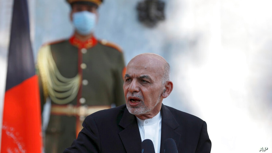 Taliban See Ghani as 'Obstacle' to Afghan Peace