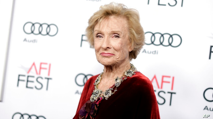 """FILE - Cloris Leachman attends the premiere of """"The Comedian"""" during the 2016 AFI Fest on Nov. 11, 2016, in Los Angeles…"""