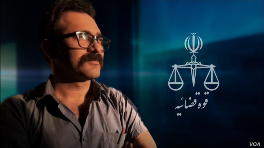 Undated image of Iranian writer Arash Ganji, who was sentenced by a Tehran court in Dec. 2020 to an effective 5-year prison term for translating a book praising Syrian Kurdish militias, according to his lawyer in a VOA Persian interview. (VOA Persian)