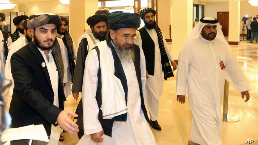 Taliban Warn Turning Away from Afghan Peace Deal 'Doomed to Failure' |  Voice of America - English