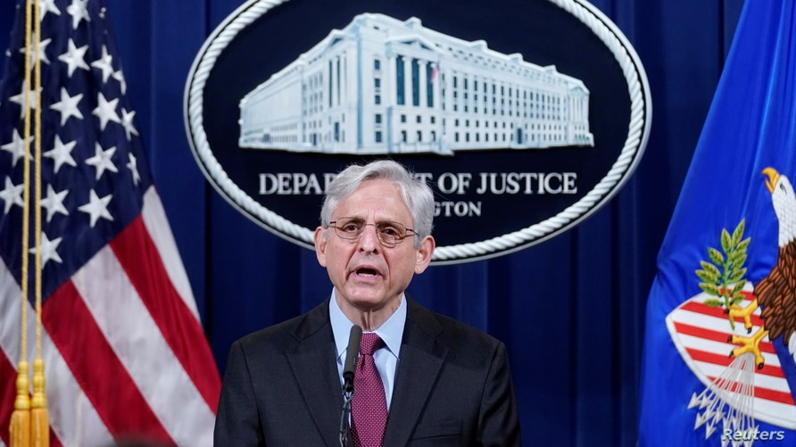 Attorney General Merrick Garland speaks about a jury's verdict in the case against former Minneapolis Police Officer.