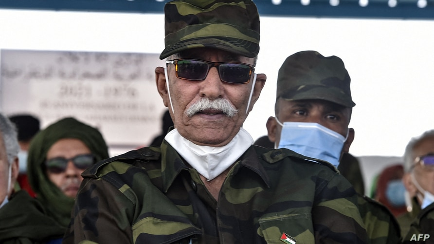 Brahim Ghali, President of the Sahrawi Arab Democratic Republic (SARD) and Secretary-General of the Polisario front, attends…