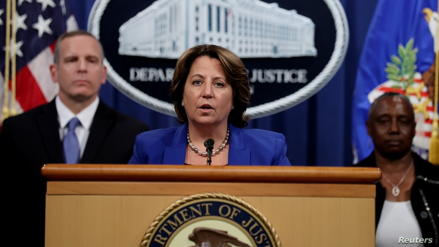 Deputy U.S. Attorney General Lisa Monaco announces the recovery of millions of dollars worth of cryptocurrency from the…