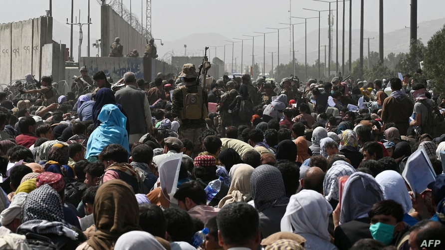 UK Military: 7 People Killed in Chaos at Kabul Airport