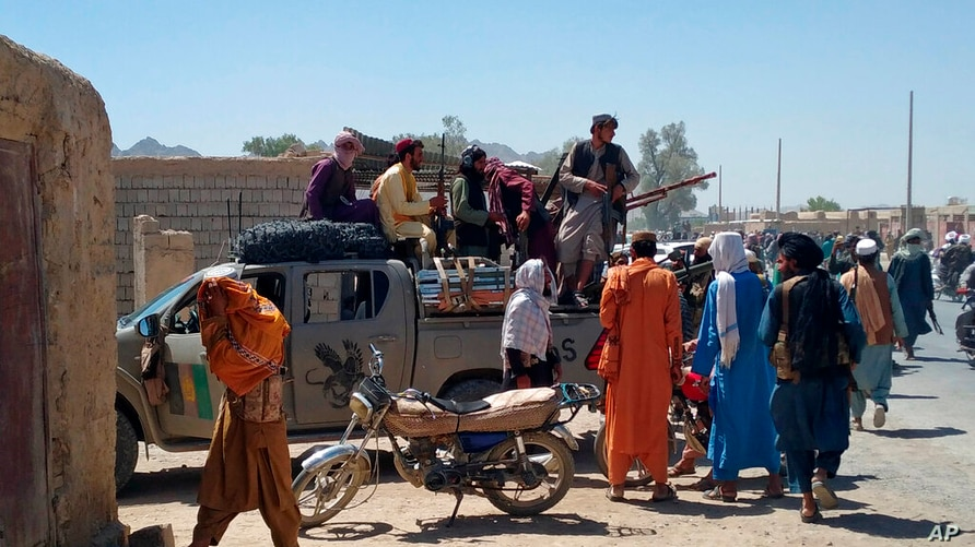 Taliban Fighters Capture Eighth Provincial Capital, Official Says