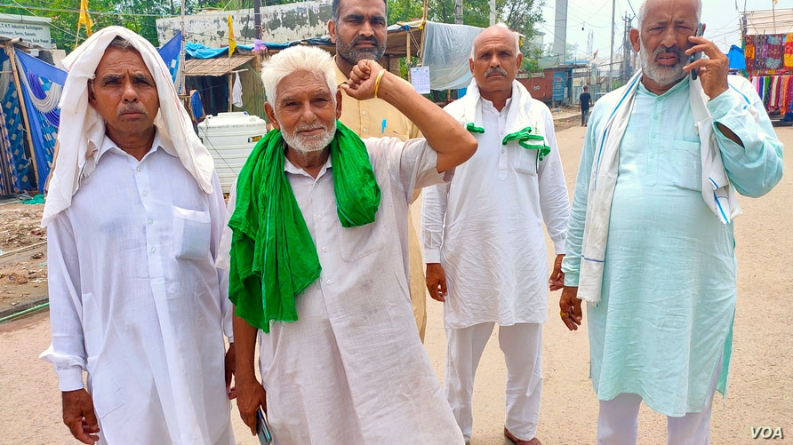 Indian Farmers Weather Eight-Month Protest on Highway