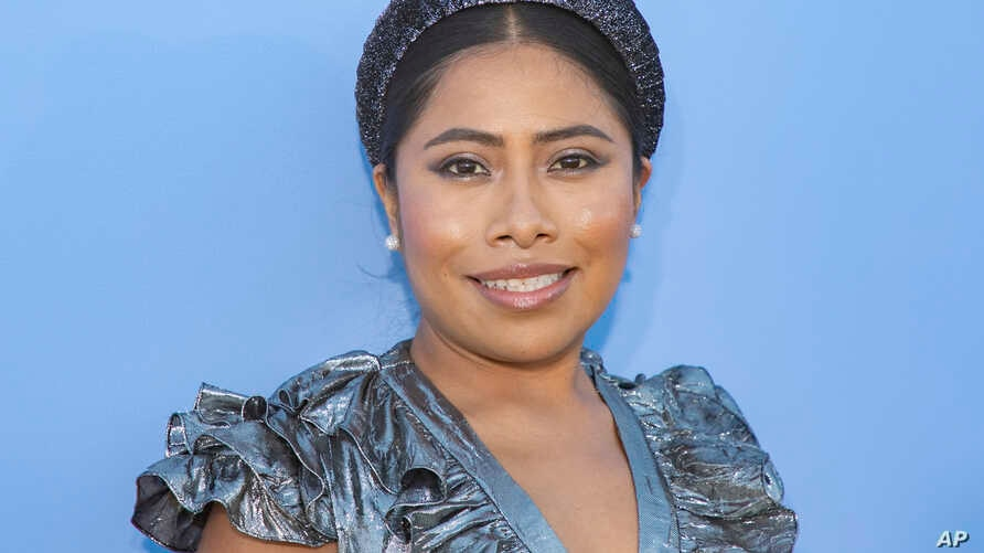 Yalitza Aparicio attends the Michael Kors runway show at Duggal Greenhouse during NYFW Spring/Summer 2020 on Wednesday, Sept…