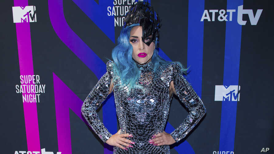 Lady Gaga attends the AT&T TV Super Saturday Night at Meridian on Island Gardens in Miami on Saturday, Feb. 1, 2020, in Miami ,…