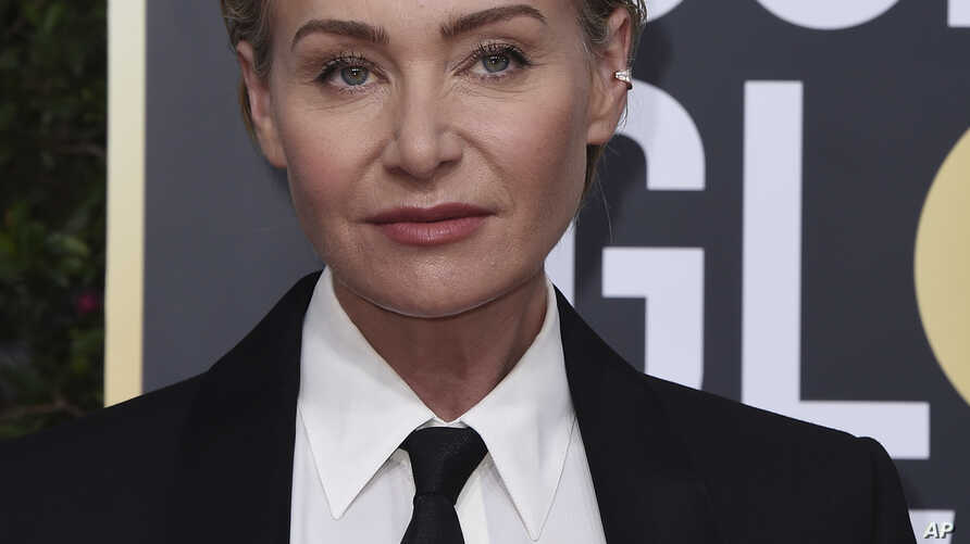 Portia de Rossi arrives at the 77th annual Golden Globe Awards at the Beverly Hilton Hotel on Sunday, Jan. 5, 2020, in Beverly…