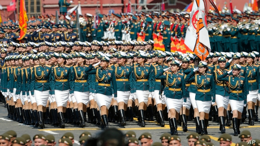 Russia Stages Massive 'Victory Day Parade' Amid Pandemic | Voice ...
