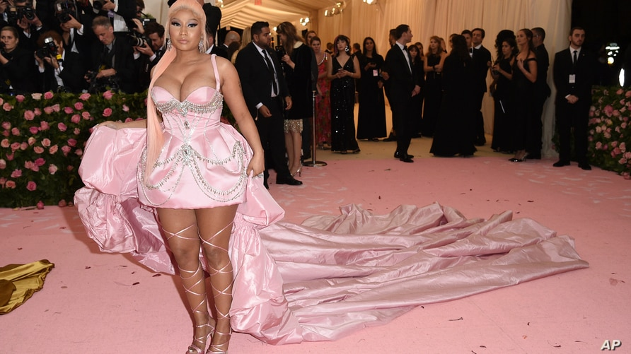 """Nicki Minaj attends The Metropolitan Museum of Art's Costume Institute benefit gala celebrating the opening of the """"Camp: Notes…"""