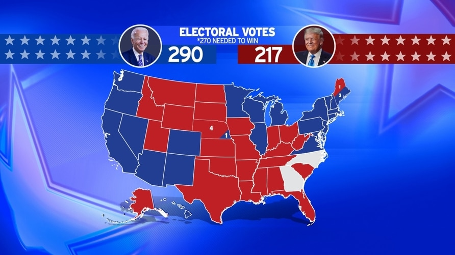 Us Election Results By State Map Top CEOs Met to Plan Response to Trump's Election Denial | Voice
