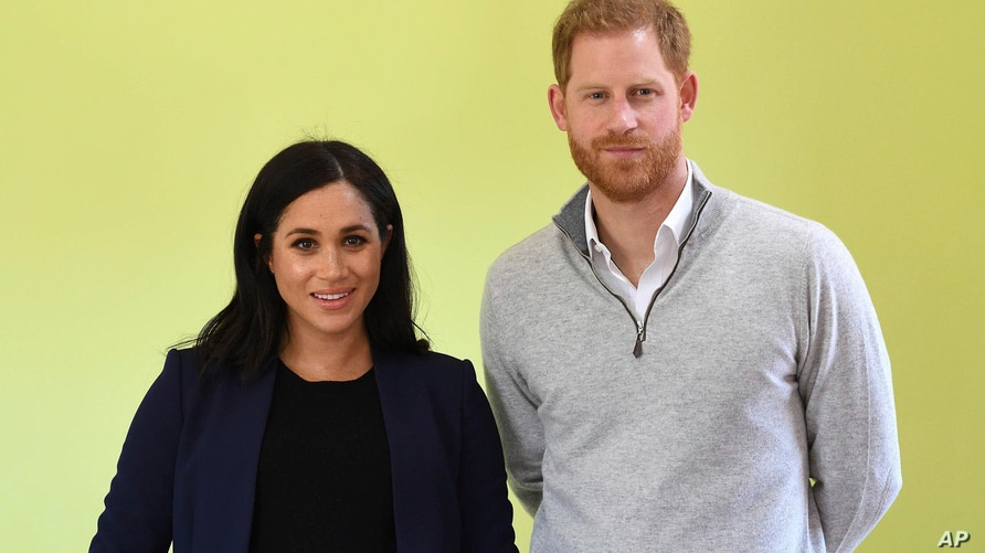 FEBRUARY 14th 2021: Meghan Markle The Duchess of Sussex and Prince Harry The Duke of Sussex announce they are expecting their…