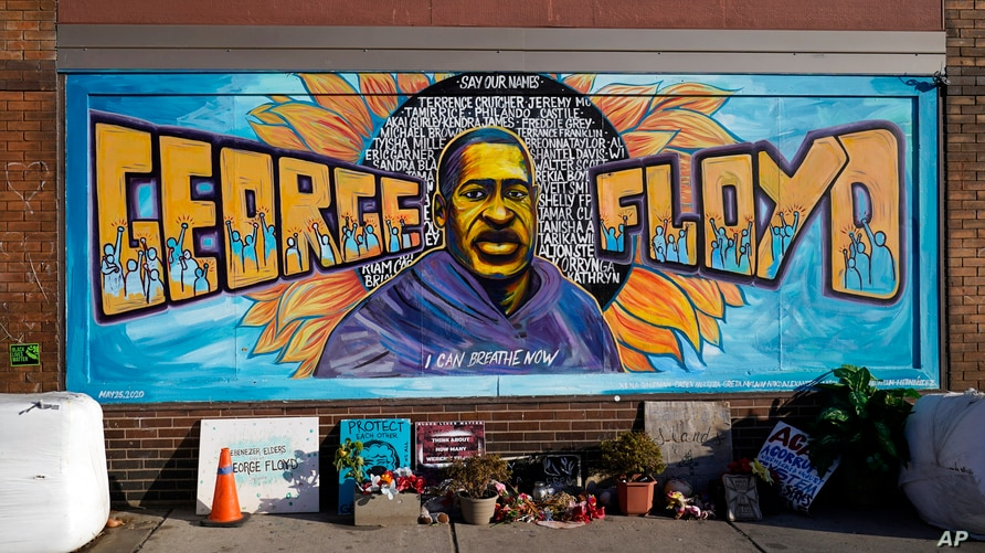 George Floyd Square is shown on Feb. 8, 2021, in Minneapolis. Ten months after police officers brushed off George Floyd's moans…
